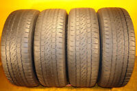 225/50R17 Set of 4 Firestone RF 75% tread left FREE INSTALL&BAL