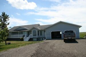 155 Acres, Walkout bungalow, 5000 sq.ft shop bordering Hghy 564