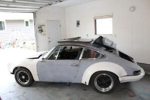 1969 Porsche 912 and 1974 Porsche 911