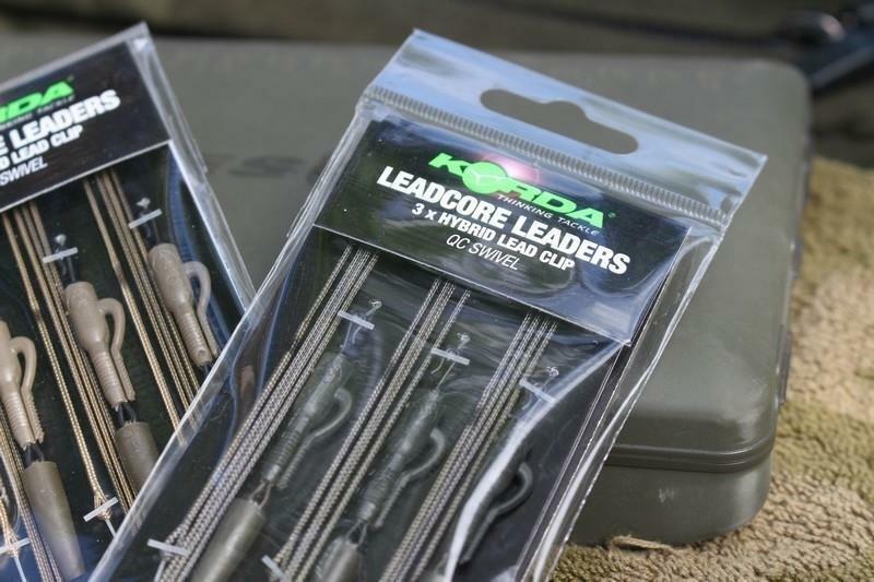 Korda Kable Leadcore Leader Hybrid Lead Clip QC Swivel