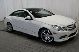 2012 Mercedes-Benz E350 4MATIC Coupe