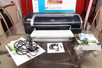 HP Deskjet 9800 Wide Format Color Printer prints up to 19 inches