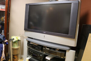 SONY GRAND WEGA 53 INCH TV WITH STANDTAND