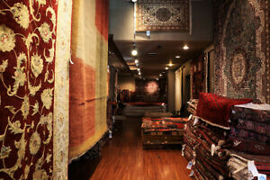 CLOSING DOWN RUG STORE SALE NO REASONABLE OFFER WILL REFUSE