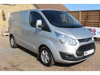 2016 FORD TRANSIT CUSTOM 290 TDCI 170 L1 H1 LIMITED SWB LOW ROOF FWD VERY RARE