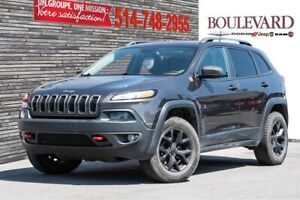 Jeep Cherokee TRAILHAWK 4X4 TOIT PANORAMIQUE CAMÉRA 2016