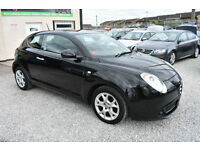 Alfa Romeo MiTo 1.4 16V LUSSO BLACK 2010 MODEL + BEAUTIFUL EXAMPLE