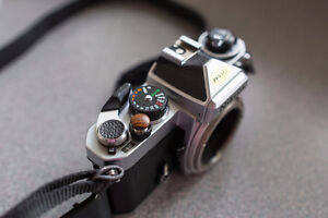 Nikon FE with 50mm 1.2 ais Excellent ++ Condition Williams Lake Cariboo Area image 3
