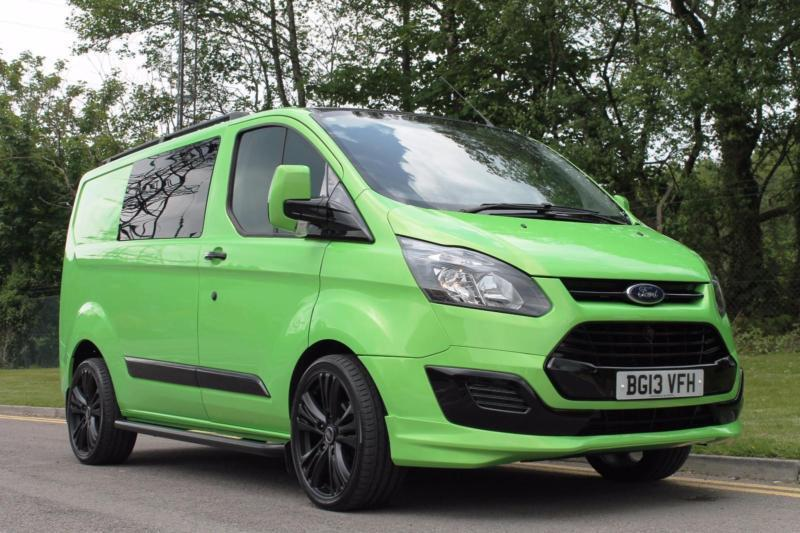 2013 13 ford transit custom 125bhp rs sport style kombi 6. Black Bedroom Furniture Sets. Home Design Ideas