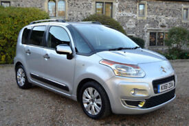 Citroen C3 Picasso 1.6HDi 8v Exclusive, 30K MILES, FULL S/HIST, NEW MOT