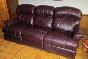 Lazy Boy all leather couch / recliner