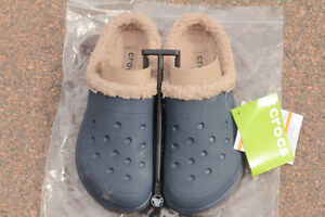Ladies Croc Lined Slipper/Shoes