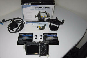 Garmin 276C GPS + Extras (Set up For Motorcycle Use)