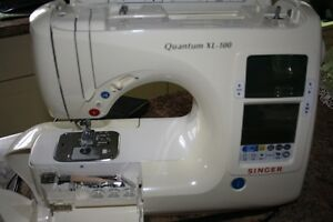 Singer Quantum 100 with all disks and attachments