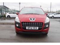 2012 PEUGEOT 3008 Peugeot 3008 1.6 HDi [112] Active II 5dr 2WD