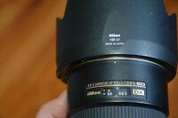 Nikon AF-S DX 17-55mm f/2.8G IF-ED, COMME NEUVE