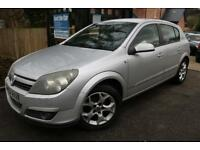 2004 Vauxhall Astra SXi 1.6i Twinport Silver 5 Dr Needs New Clutch PX To Clear