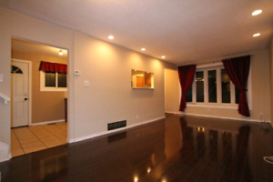 5 min walk to GO Station - Recently Renovated 3 Bedroom Apt