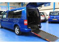 Vw Caddy Wheelchair car mobility accessible vehicle disabled van 5 seats manual