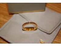 Astley Clarke Gold and quartz ring - great present! £100 ono