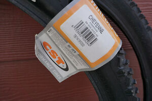 """CST Cheyenne Mountain bike tires 26"""" x 2.40"""" (never used)"""