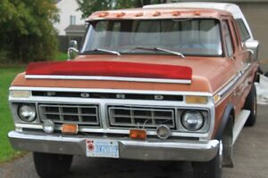 1976 FORD F250 CAMPER SPECIAL