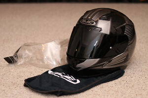 HJC CL-17 Striker - XL, Dark Smoke, Chin Curtain