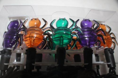 New 20 LED String Lantern Night Light Flash Bug bugs Party Halloween 8.5 feet