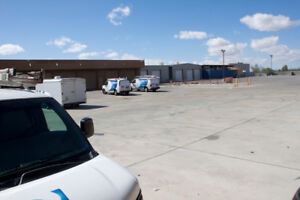 Warehouse storage space and parking lot space available