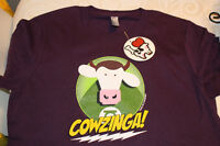 COWS T-Shirt,youth L