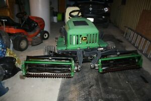 john deere reel mower