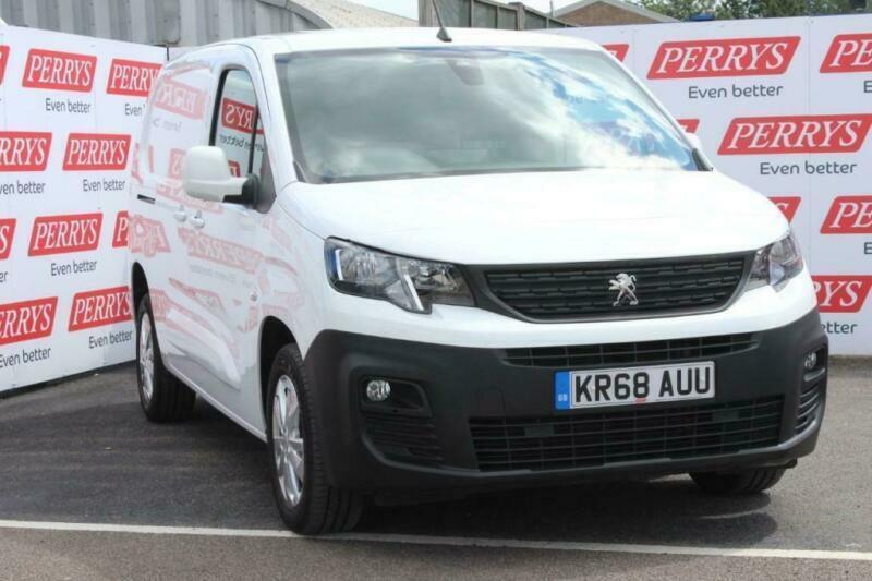 2018 Peugeot Partner 1000 1 5 BlueHDi 130 Asphalt Van 6 door Panel Van | in  Bletchley, Buckinghamshire | Gumtree