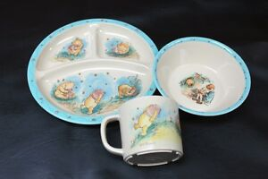 3 Piece Pooh Bear Plastic Dinnerware Set The Walt Disney Company Kingston Kingston Area image 1