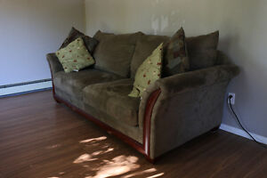 Sofa and dining table set for sale