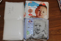 Assorted size 2 diapers.
