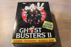 1989 Ghost Busters 2 Original Wax Box - Mint