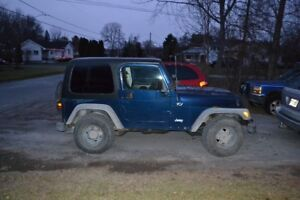 2002 Jeep TJ sport Other