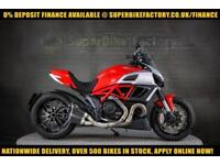 2012 62 DUCATI DIAVEL 1198CC 0% DEPOSIT FINANCE AVAILABLE