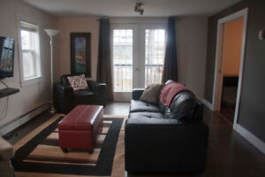 Fully furnished upper level flat - downtown Dartmouth