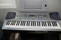 Casio CTK-591 Keyboard with stand and bench