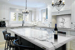 Quartzite, Granite, Quartz, Marble countertops, (special deal)