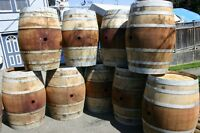 Wine Barrels and Table Tops to RENT