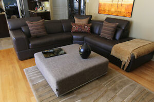 Leather Sofa - Leather is in pristine condition
