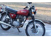 Honda CB125S 1975 JRB 580N