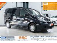 2013 13 CITROEN DISPATCH 1.6 L1H1 ENTERPRISE HDI BLACK 6 SEAT CREW VAN