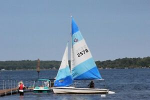 CL 16 Sailboat and trailer