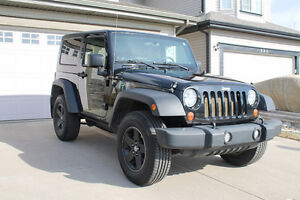 2008 Jeep Wrangler X in Great Condition-must sell