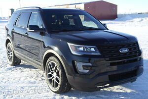 2016 Ford Explorer Sport Leather/Navigation/4x4/Low Kms $44,986