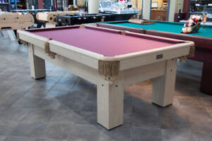Table Canada billard 4X8 neuve Hercules pool table.