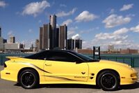 The very last Pontiac Trans Am 2002 collector edition